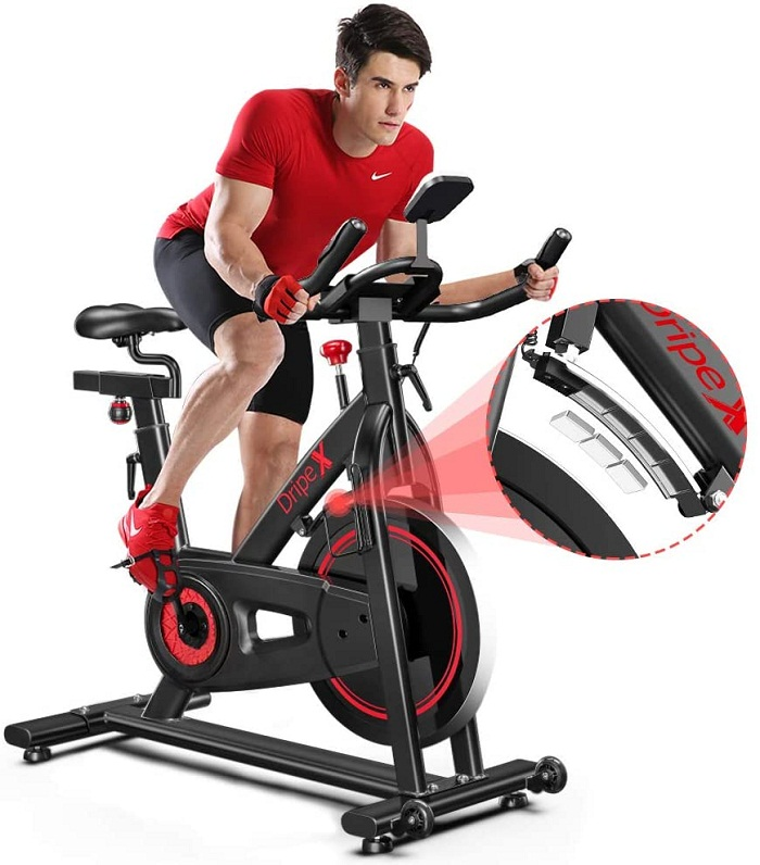 Dripex Indoor Cycling Magnetic Resistance Exercise Bike