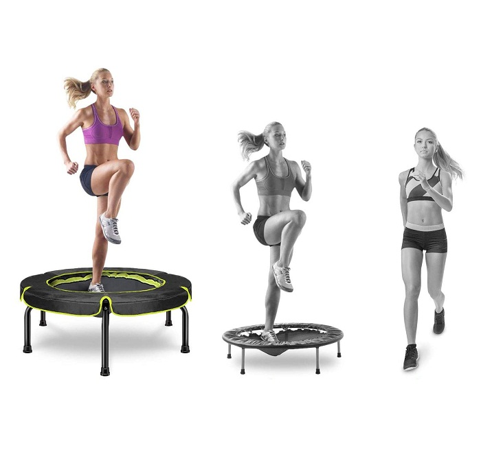 Happy Jump Fitness Trampoline with Handle