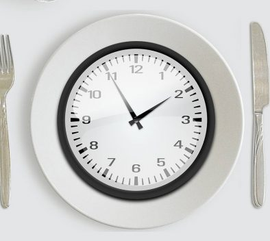 fasting clock plate