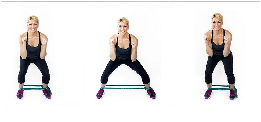 Lateral Lunge Resistance band