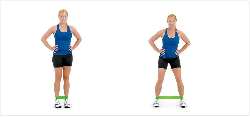 Lateral Walk resistance band