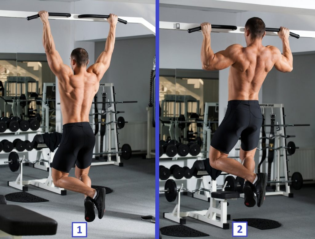 How to do wide grip pull ups